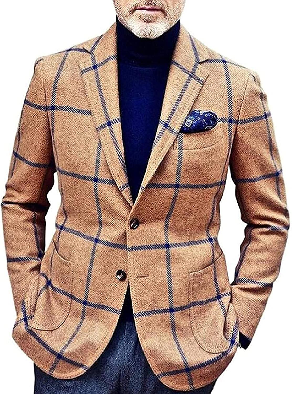 Men Challenge the lowest price of Japan 2 Gorgeous Button Casual Long Sleeve Coat Sport Blazer Stripe Jacket