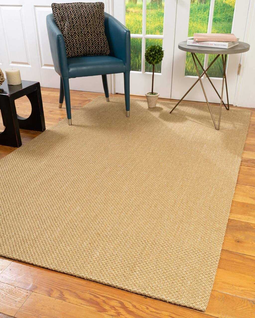Natural Super sale Area New product Rugs 100% Fiber Handmade Beige Sis Montage