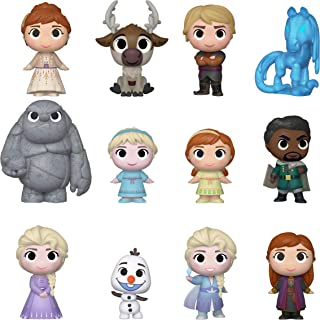 Funko Mystery Minis: Disney - Frozen 2, 12-Pieces(PDQ), One Random Mystery Action Figure - 40908