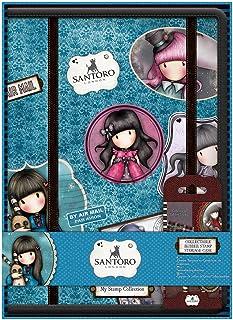 SANTORO Gorjuss Carpeta de Almacenamiento para tu colección de Sellos de Caucho, Multicolor