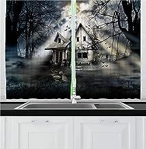 Best horror window curtains Reviews