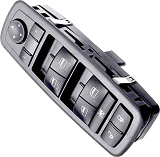 APDTY 133907 Master Power Window Switch Fits 2009-2012 Dodge RAM 1500 2500 3500 Crew Cab Pickup With