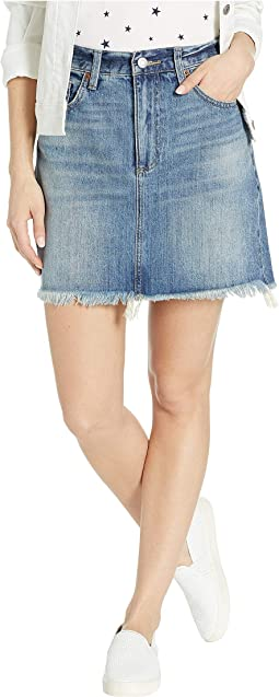 Old Favorite Denim Mini Skirt in Brian Fray