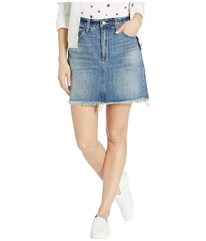 Lucky Brand Old Favorite Denim Mini Skirt in Brian Fray (Brian Fray) Women