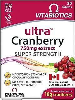 Vitabiotics Ultra Cranberry, 750 mg - 30 Tabs