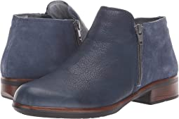 Ink Leather/Midnight Blue Suede