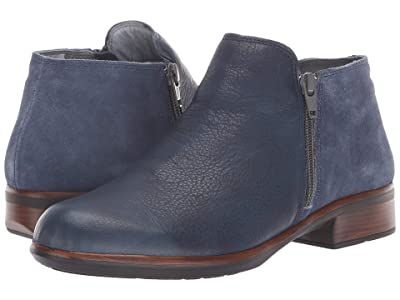 Naot Helm (Ink Leather/Midnight Blue Suede) Women