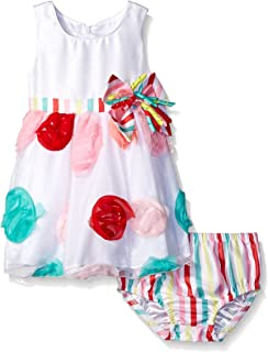 Baby Girls' Colorful Birthday Party Dress
