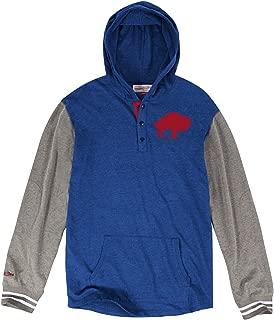 Mitchell & Ness Buffalo Bills NFL Mid-Season Long Sleeve Hooded Men's Shirt