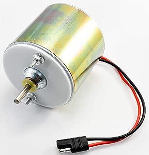 Low Amp 12 Volt 1/4'' Shaft Feeder Motor