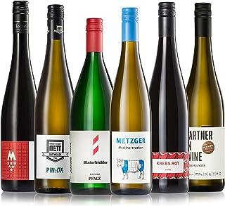GEILE WEINE Weinpaket PFALZ 6 x 0,75 Bester Weißwein und Rotwein von Winzern der Pfalz