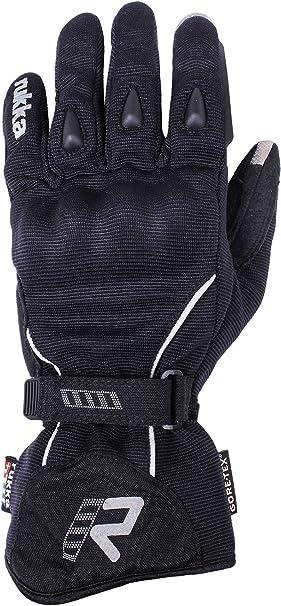 Rukka Hero Black Size 11 XXL Short Motorcycle Gloves Leather Carbon