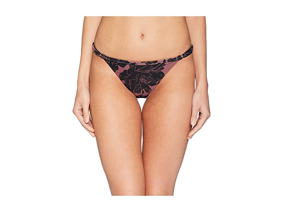 RVCA Peony Medium Swim Bottom (Rose) Women