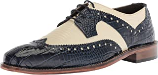 Stacy Adams Mens Gusto Wingtip Lace-up Oxford
