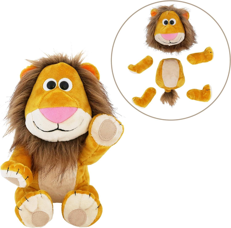 Animoodles Brady Lion Magnetic Stuffed Animal Plush