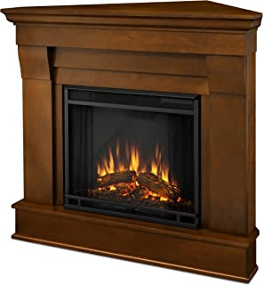 Real Flame 5950E Chateau Corner Electric Fireplace, Small, Espresso
