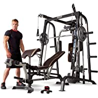 Deals on Marcy Smith Cage Workout Machine Training Home Gym System