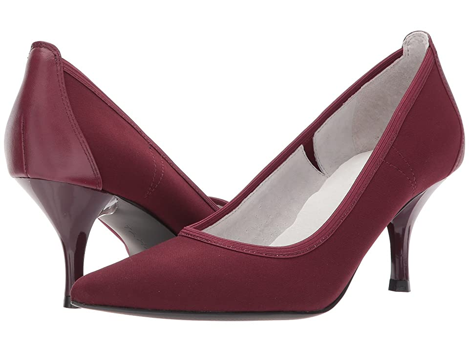 Tahari Dottie (Wine Tricot) High Heels