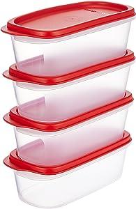 Tupperware Smart Saver Storage Container Sets 4, 500 Ml