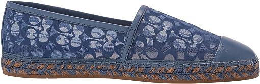 Stone Blue Signature C Mesh/Leather
