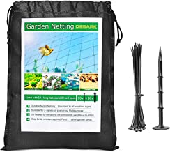 """Bird Net 25' x 50' Garden Netting with 1"""" Square Mesh Protect Fruit Tree, Plant & Vegetables from Poultry, Deer and Pests,..."""