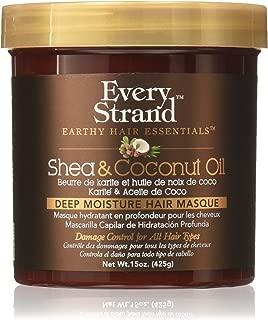 Every Strand Shea and Coconut Oil Deep Hair Masque, 15 Ounce