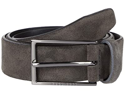 BOSS Hugo Boss Calindo Belt (Dark Grey) Men
