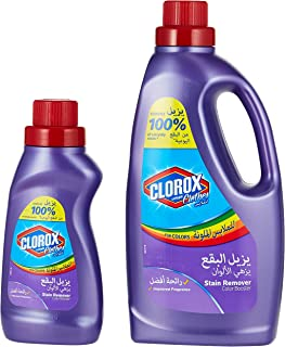 Clorox Clothes Stain Remover Color Booster 1.8Litres Plus Clorox Clothes Stain Remover Color Booster 500 mililitres free