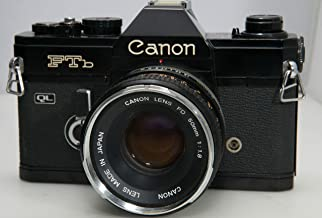 Canon FT B FTb QL 35mm Camera with 50mm 1.8 lens