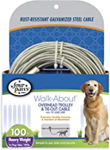 Four Paws Heavy Duty Dog Cable Trolley Exerciser