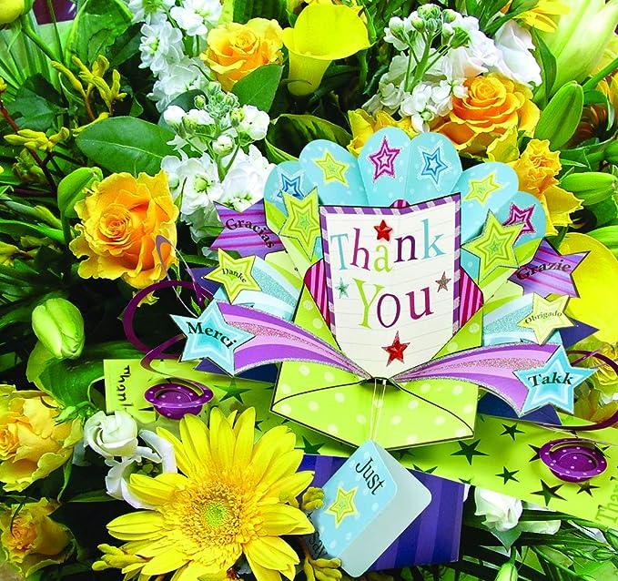 Tarjeta de felicitaci/ón para 50 cumplea/ños Second Nature POP191 dise/ño de flores