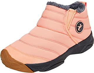Women Snow Boots Warm Ankle Boots Anti-Slip Waterproof Winter Shoes Slip On Booties Sneakers US5.5-10