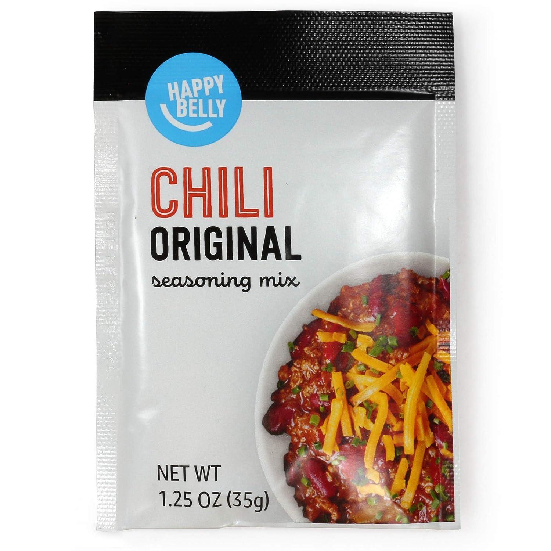 Amazon Brand - Happy Belly Chili Seasoning Mix, 1.25 Ounce