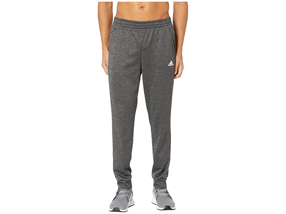 adidas Team Issue Fleece Jogger (Dark Grey Melange) Men's Casual Pants