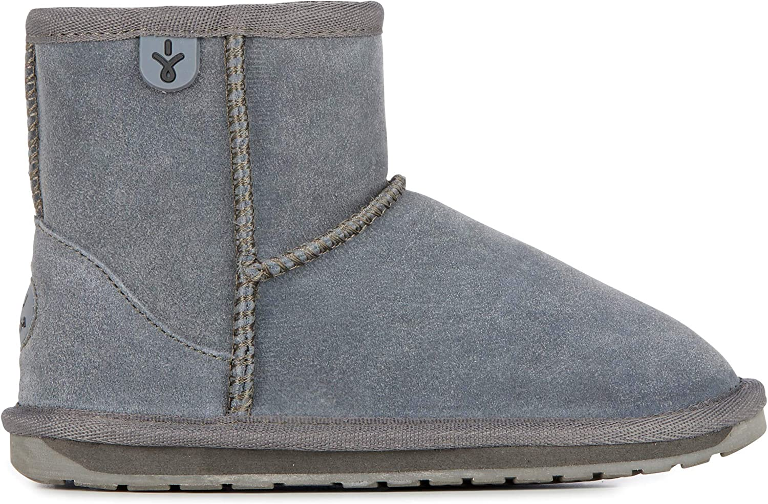 Emu - Wallaby Mini Charcoal - color  Grey - Size  US