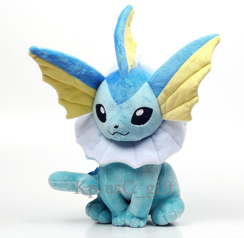 Pokemon VAPOREON Plush Soft Doll Toys B00EEW7KJE Vollständige Spezifikation  | Treten Sie ein in die Welt der Spielzeuge und finden Sie eine Quelle des Glücks