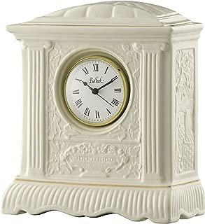 belleek mantle clock