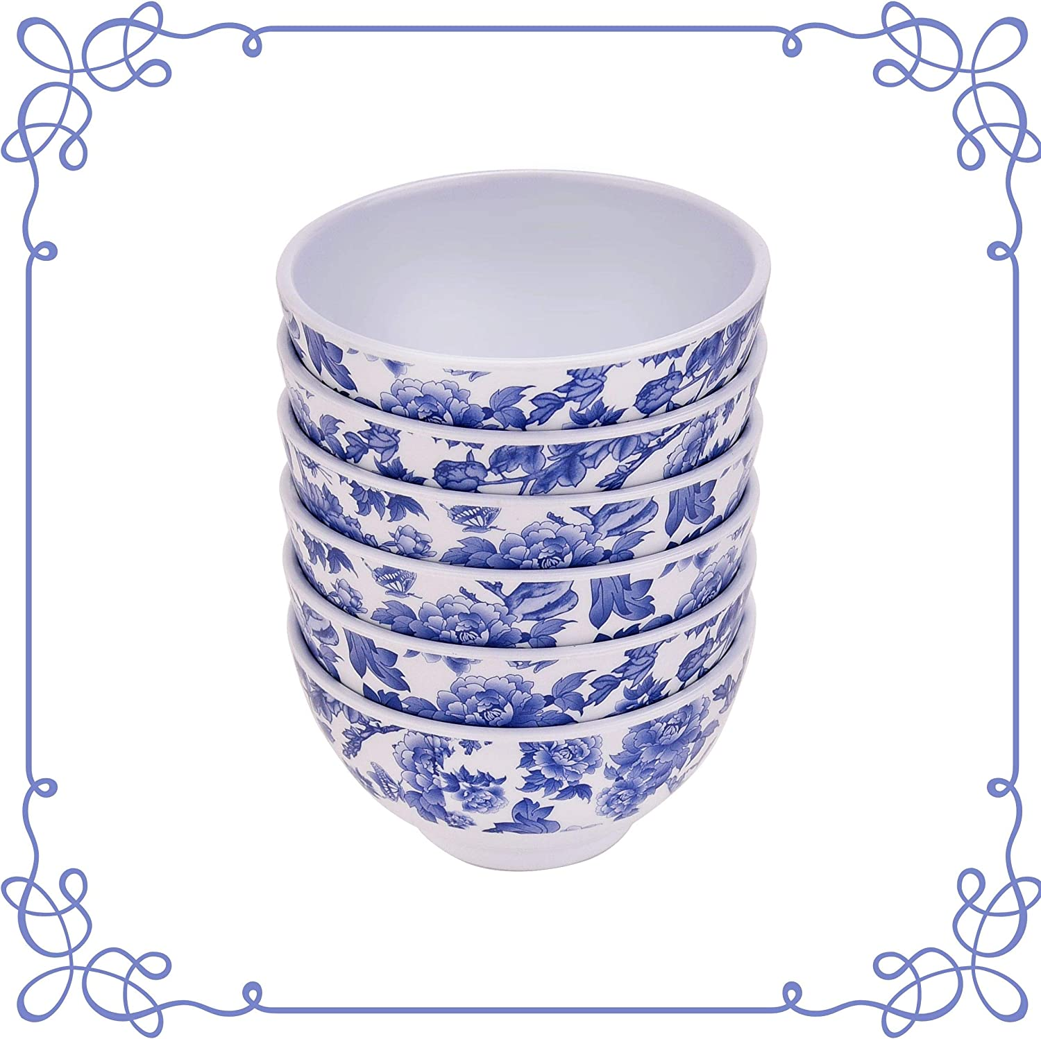 ARC 6600F Melamine dinnerware Deep Bowl NEW before Online limited product selling of 100% 6 set Melamin