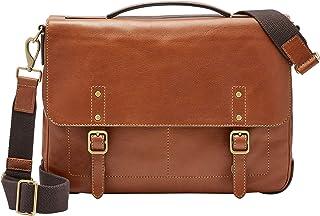 Men's Defender Messenger Briefcase, Cognac