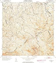 YellowMaps El Yunque PR topo map, 1:30000 Scale, 7.5 X 7.5 Minute, Historical, 1952, Updated 1953, 21.7 x 19.6 in