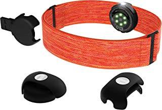 Polar OH1+ Vattenresistent Optisk Pulssensor Med Klämma Till Simglasögonsband och Armband – Pulssensor med Bluetooth, ANT+...