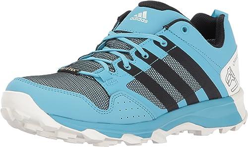 Adidas outdoor Wohommes Kanadia 7 Trail GTX W Running chaussures, Vapour bleu noir Clear Aqua, 6 M US