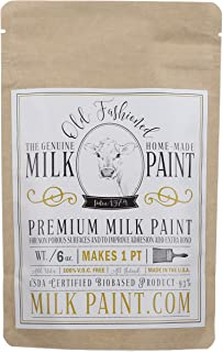 Old Fashioned Milk Paint Non-VOC Powder Paint, 1 Pint, Willow
