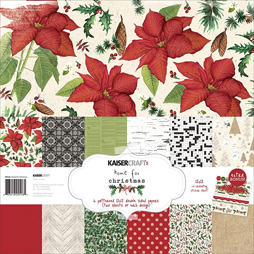 Home For Christmas 12 x 12 Paper Pack - KaiserCraft