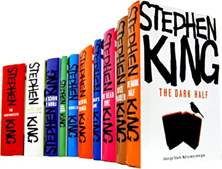Stephen King 10 Books Collection Set £89.90 (HARDBACK) (Stephen King Collection) (Rose Madder, The Dark Half, Needful Things, Geralds Game, The Dead Zone, From A Buick 8, The Girl who Loved Tom Gordon, Thinner, The Tommyknockers, Salems Lot)
