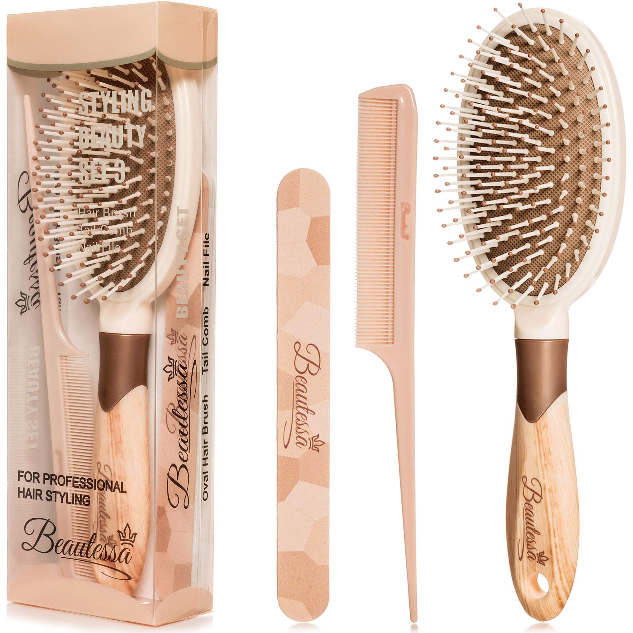 3pcs Brush Comb Set Detangling