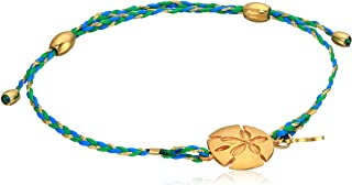 Womens Precious Thread Sand Dollar Bracelet
