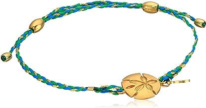 Alex and Ani Womens Precious Thread Sand Dollar Bracelet