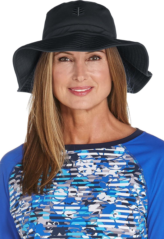 Coolibar UPF 50+ Women's Chlorine Resistant Bucket Hat  Sun Predective