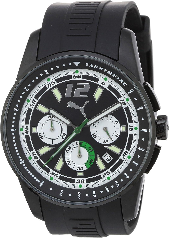 Puma Time Gents Watch RACE LUMINOUS CHRONO BLACK A.PU102161006